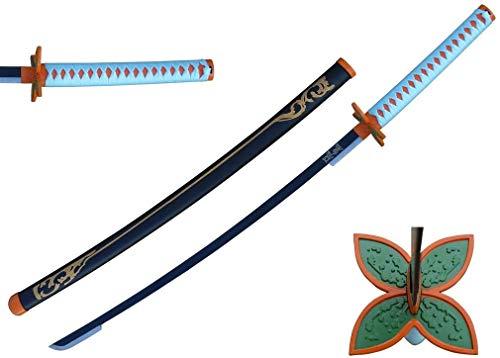 MINGSHAO 41' Metal New Anime Replica Fantasy Samurai Sword Anime Katana Blade Cosplay