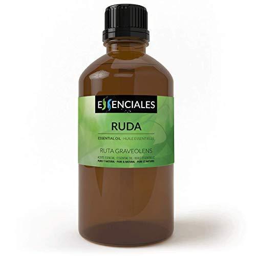 Essenciales - Aceite Esencial de Ruda, 100% Puro y Natural, 200 ml   Aceite Esencial Ruta Graveolens