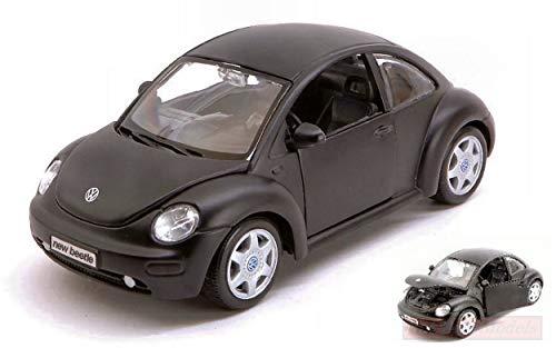 Maisto MI31975Z VW New Beetle Black 1:24 MODELLINO DIE CAST Model kompatibel mit
