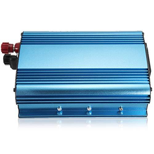 XDDXIAO 3000W Car Power Inverter, DC 12V/24V/48V to AC 220V Sine Wave Converter with 5VDC/2.1A USB Ports and 1 AC Outlets Solar Inverter, for/Trips/Vacations/Outdoors,24v,220V