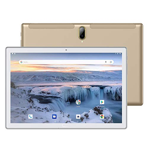 ZYING Tablet PC de 10 Pulgadas,Tableta Android con Ranura para Tarjeta SIM Dual,Pantalla IPS de 10.1 Pulgadas,Quad-Core,2GB RAM+32GB ROM,4G WiFi,GPS,Bluetooth