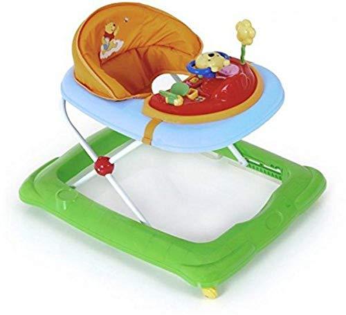 Hauck Lauflernhilfe Player Disney - Walker ab 6 Monaten, Gehfrei mit Spielcenter und Rollen, höhenverstellbar, bunt (Pooh)