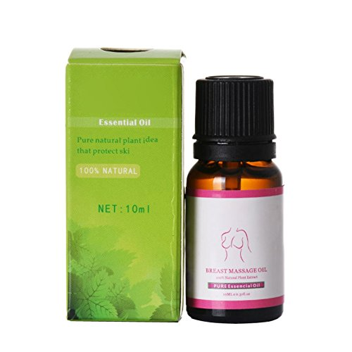 Natürliche Brustvergrößerung ätherisches Öl, Pueraria Mirifica Brust Büste Straffende Lifting Erweiterung Öl – 10 ml