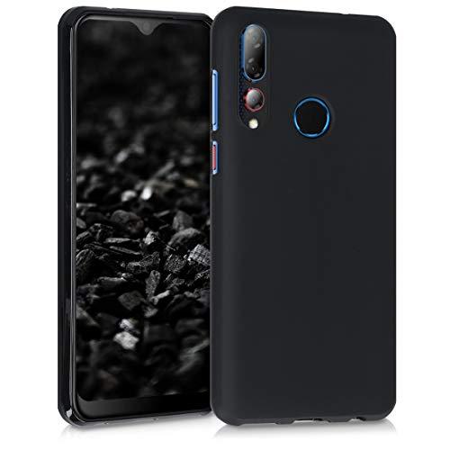 kwmobile Hülle kompatibel mit HTC Desire 19+ / 19s - Handyhülle - Handy Case in Schwarz matt