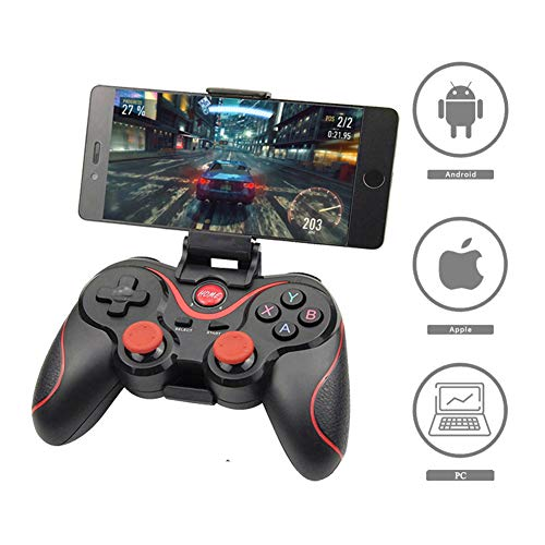 T3 X3 Wireless Joystick Gamepad Game Controller Bluetooth Bt3.0 Joystick Voor Mobiele Telefoon Tablet Tv Box Holder