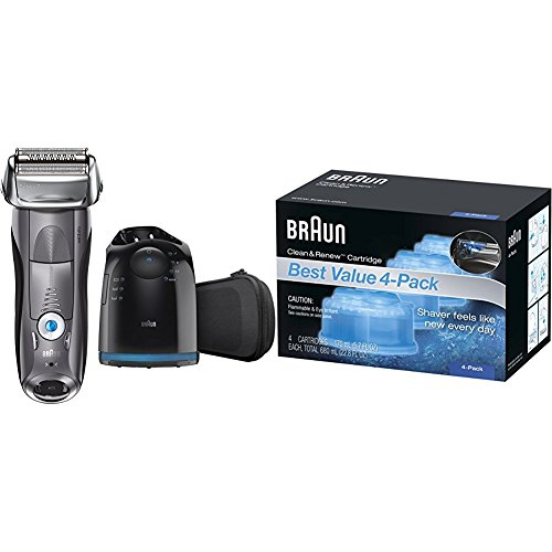 Braun Series 7 7865cc Wet & Dry Electric Shaver for Men with...
