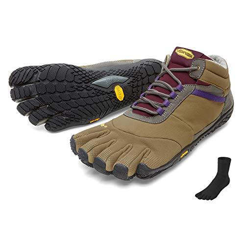Fivefingers Vibram Trek Ascent - Calcetín para mujer con dedos de los pies, talla 41, color caqui