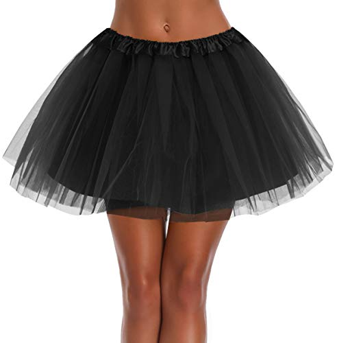 Women's, Teen, Adult Classic Elastic 3, 4, 5, 4layer-black, Size One Size