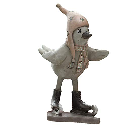 GOAIJFEN Landvogel Creatieve Hars Ambachten Leuke Model Eenvoudige moderne ambachten ornamenten Office Decoratie Desktop Vensterbank Art decoraties sculptuur