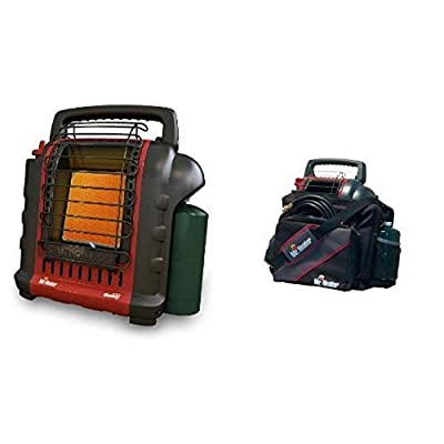 Mr. Heater F232000 MH9BX Buddy 4,000-9,000-BTU Indoor-Safe Portable Radiant Heater and Mr. Heater Portable Buddy Carry Bag 9BX Bundle