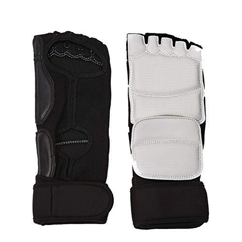 Whiie891203 Winter-Handschuhe, warm, für Kinder und Erwachsene, Taekwondo Sparring, Karate Training, Fuß-Handschutz, Schutz – XS Fußschutz