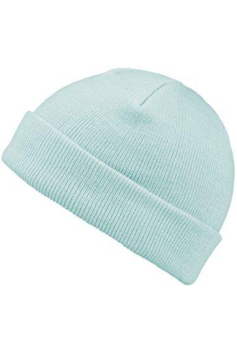 MSTRDS Unisex Strickmützen Short Pastel Cuff Knit Beanie, Blau (Ice Blue 4758), One Size (one size)