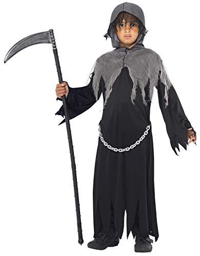 Smiffys Costume faucheuse sinistre, avec grande capeet capuche