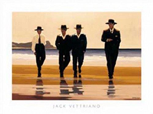 1art1 Jack Vettriano - The Billy Boys Póster Impresión Artística (80 x 60cm)