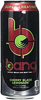 Bang Energy Drinks - 6, 16 ounce cans (Cherry Blade Lemonade)