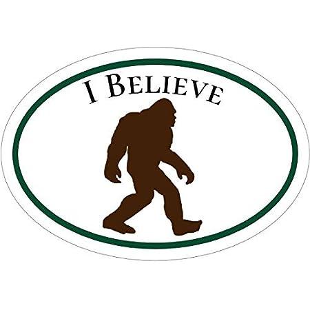 Big Foot//Yeti//Sasquatch I Believe Vinyl Stickers or Magnet 8 STYLES Durable!