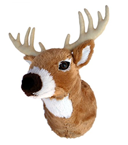 "Adore 13"" Boone The Whitetail Deer Plush Stuffed Animal Walltoy Wall Mount"