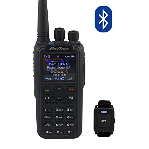 ANYTONE AT-D878UV Plus - Transceptor portátil DMR para radioaficionados 144/430 MHz. con Bluetooth