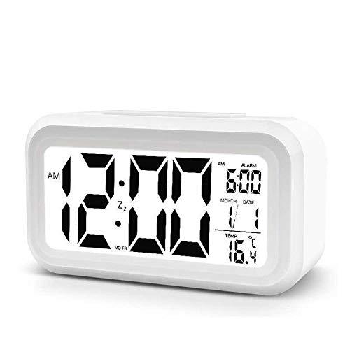JJIAOJJ Inicio Digital Sala de Estar Proyección Tiempo Proyección Proyección Primaria Escuela Alarma Reloj de Alarma Home Electronic Math Exhibir Luminoso Máquina Luminosa