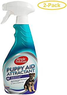 (2 pack) Simple Solution Puppy Aid Training Spray, 16 oz