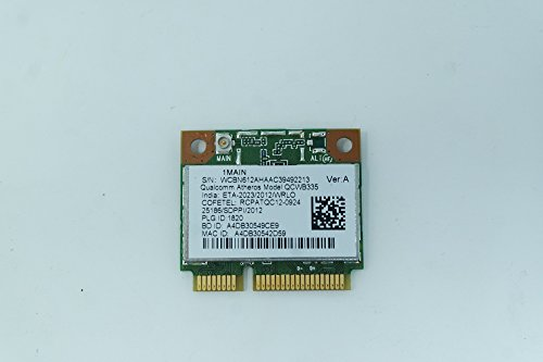 COMPRO PC Tarjeta de Red inalámbrica Combo Bluetooth para Acer Aspire E1-572 WiFi N y Bluetooth 4.0 ATHEROS QCWB335 NC.23611.00Z
