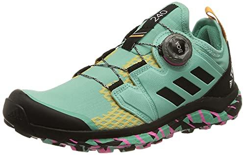 adidas Terrex Agravic Boa W, Zapatillas de Trail Running Mujer, MENACI/NEGBÁS/ROSCHI, 38 2/3 EU