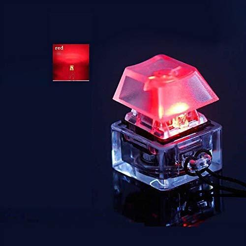 juqingshanghang1 1 stück Mechanical Keychain Beleuchtet Backlit für das Tastatur-Tester-Kit (Color : 2)