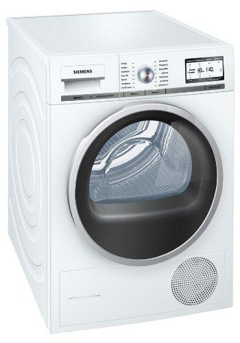 Siemens iQ 800 WT48Y7W1 Wärmepumpentrockner / A+++ / 8 kg / Kondensator selbstreinigend / Soft Dry Trommelsystem / Eco Plus