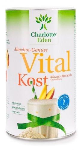 Charlotte Eden Vitalkost Mango-Maracuja 14 Portionen, 490 g