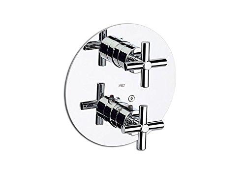Roca Loft - grifo termostático empotrable para baño o ducha . Griferías hidrosanitarias con montura cerámica. Ref. A5A0143C00