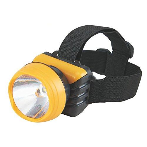 [Jaune] Lampe frontale colorée créative pour le camping/la pêche/la randonnée/le cyclisme