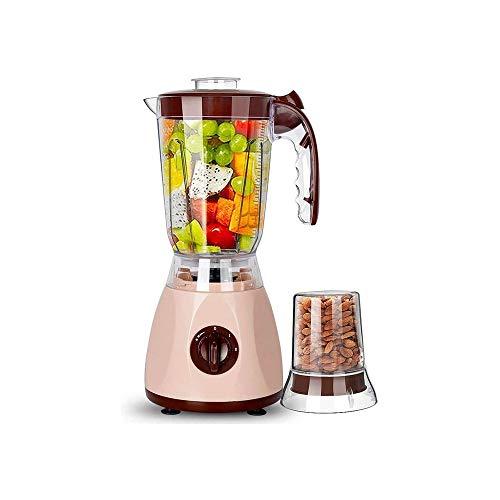 LKNJLL Slow Exprimidor, Exprimidor Máquina de Verduras y Frutas, Portátil Frío Vertical Juicer de la Prensa con la función de Reversión, Libre de BPA Masticating Exprimidor con el Jugo del jarro
