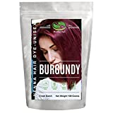 1 Pack Burgundy Red Henna Hair & Beard Color / Dye 100 Grams - Chemicals Free Hair Color - The Henna Guys