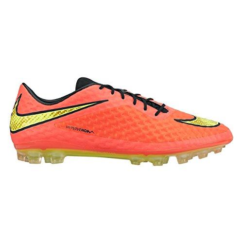 Nike HYPERVENOM PHELON FG HYPR PUNCH/MTLC GLD CN-BLK-VLT - 9