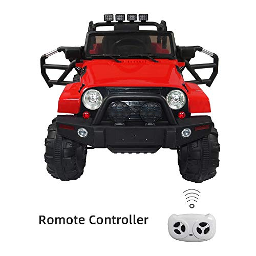 Lowest Prices! sddfor 12V Kids Ride On Car Truck, Kids Simulation Car with Remote Control, Built-in ...
