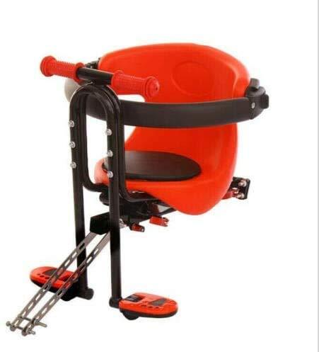 Midiao Fahrrad-Sicherheits-Kindersitz vorne Kindersitz for Frauen-Männer-Fahrrad-Baby-Fahrrad-Sitz bis zu 30 kg / 66 lb