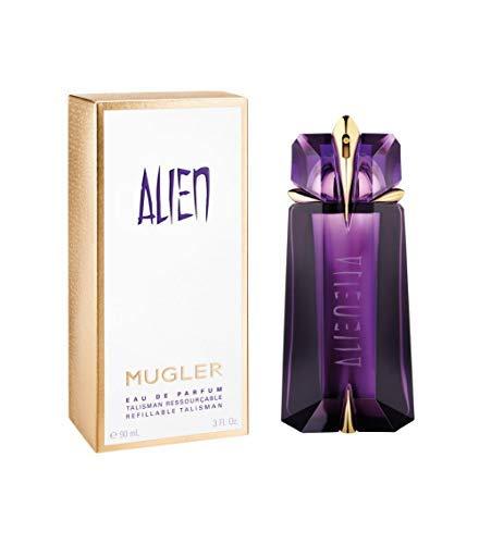 100% authentiek MUGLER Alien EDP-navulling voor dames, 90 ml Made in France + 2 niche-parfum gratis