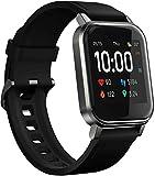 HAYLOU LS02 Smartwatch, Pulsera de Actividad Inteligente Impermeable IP68, Pulsera de Actividad Inteligente con Monitor de Sueño Contador de Caloría Pulsómetros Podómetro para Android iOS