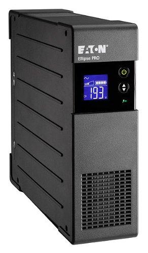Eaton Ellipse PRO 1600 DIN - Unterbrechungsfreie Stromversorgung (USV) 1600 VA mit Überspannungsschutz (8 Schuko Ausgänge) und Spannungsregelung (AVR)