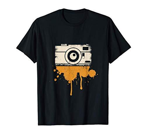 Cámara I Fotografía I Periodista retro I Fotógrafo Camiseta