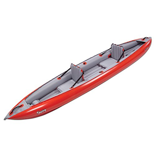 Innova Sunny Inflatable Kayak-Red/Gray