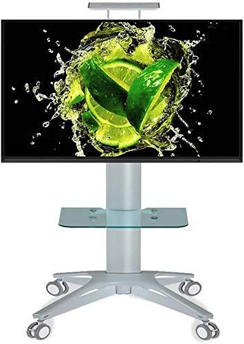 LIUCHUNYANSH TV Soporte de Suelo Rodando Soporte de TV TV móvil Cesta for la Pantalla 32/40/55/60/65/70 Pulgadas de Plasma, LED, LCD, OLED, Curvado Monte-TVs Universal con Ruedas, de Carga de 80 kg