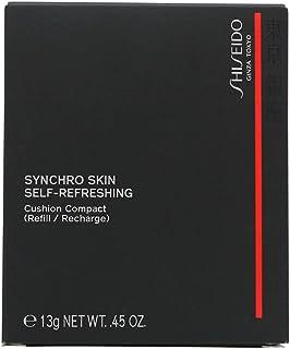 Shiseido Synchro Skin zelfherstellend kussen compacte navulling foundation 140 porselein, 13 g