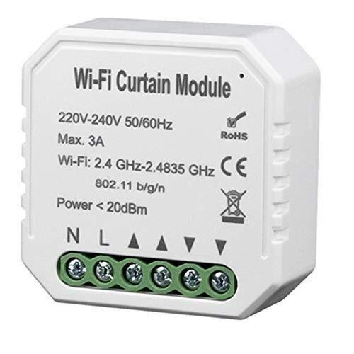 CLJ-LJ Tuya Vida Inteligente WiFi Cortina del módulo de conmutador de Obturador del Rodillo Motor eléctrico Principal Alexa Eco Smart Home
