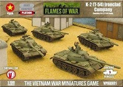 Flames of War  K-2 (T-54) Ironclad Company by Battlefront Miniatures