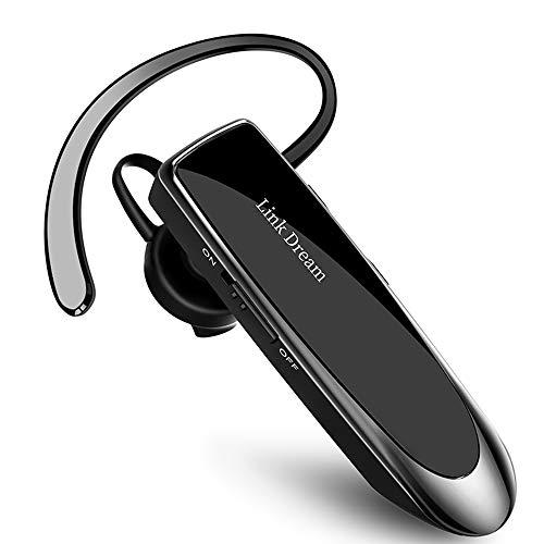 Docooler Link Dream Auriculares Manos Libres,Bluetooth 4.1 Auriculares inalámbricos intrauditivos Auriculares comerciales con micrófono Auriculares Manos Libres Mini Smart