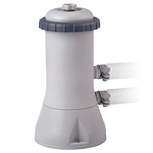 INTEX Épurateur à Cartouche Blanc, 2.7m3/h