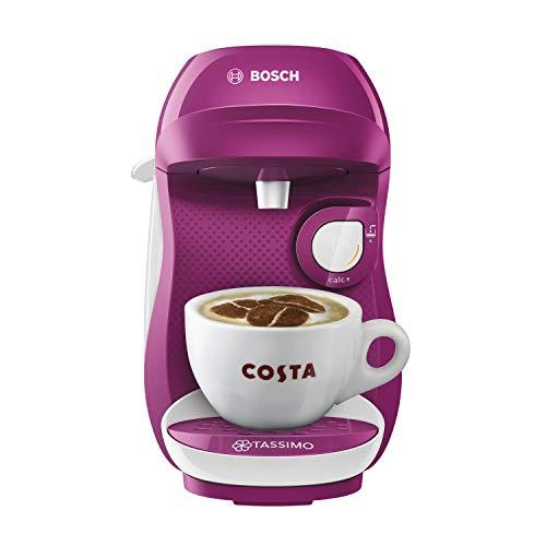 TASSIMO Bosch Happy TAS1001 GB ekspres do kawy 1400 W, 0,7 litra - fioletowy/biały