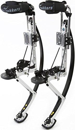 Air-Trekkers Adult Model - Carbon Fiber Spring Jumping Stilts - Medium, 160-210 lbs