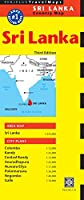 Sri Lanka Travel Map Third Edition (Periplus Travel Maps: Country Map)
